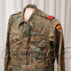 Militaria: GUERRERA CABO INGENIEROS MIMETIZADA BOSCOSO 1994. Lote 156602810