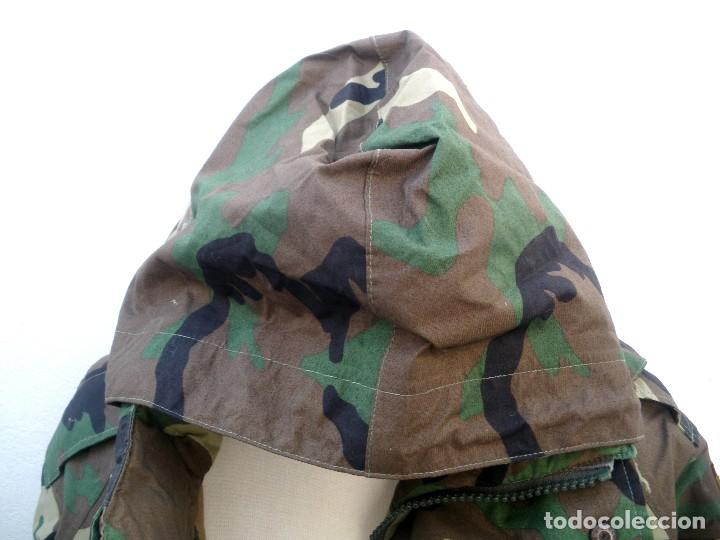 Militaria: Chaquetón de gore-tex de infantería de marina . - Foto 2 - 156732210