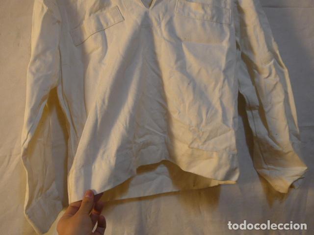 Militaria: Antiguo uniforme de marina armada española, original. Camisa y guerrera. - Foto 5 - 158613518