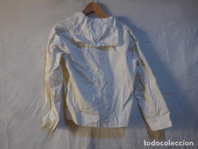 Militaria: Antiguo uniforme de marina armada española, original. Camisa y guerrera. - Foto 6 - 158613518