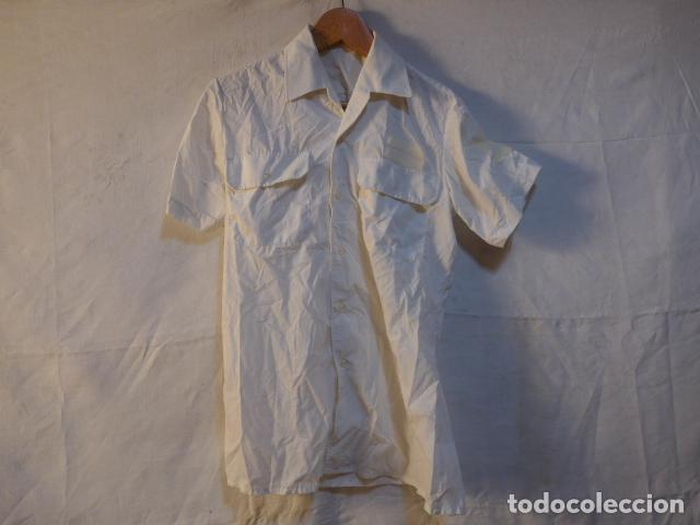 Militaria: Antiguo uniforme de marina armada española, original. Camisa y guerrera. - Foto 7 - 158613518