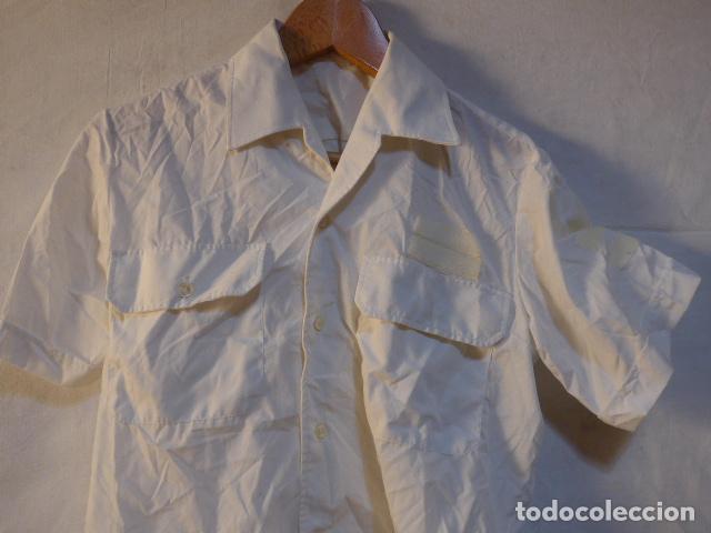 Militaria: Antiguo uniforme de marina armada española, original. Camisa y guerrera. - Foto 8 - 158613518
