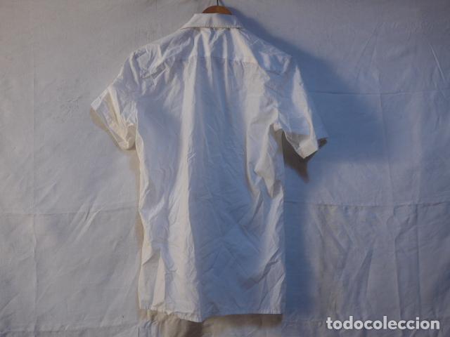Militaria: Antiguo uniforme de marina armada española, original. Camisa y guerrera. - Foto 10 - 158613518