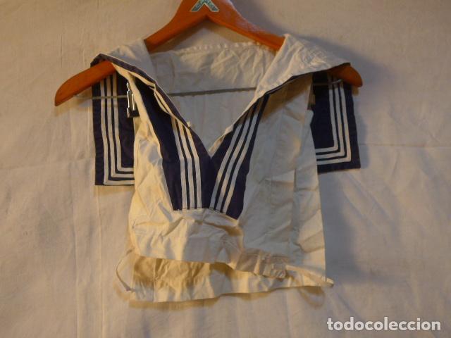 Militaria: Antiguo uniforme de marina armada española, original. Camisa y guerrera. - Foto 11 - 158613518