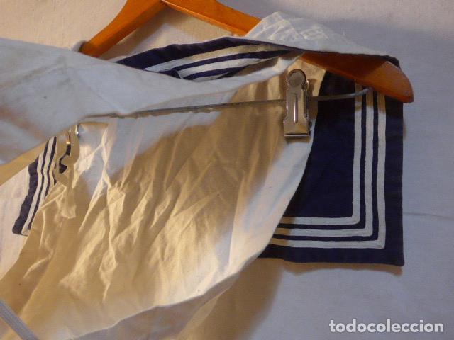 Militaria: Antiguo uniforme de marina armada española, original. Camisa y guerrera. - Foto 12 - 158613518