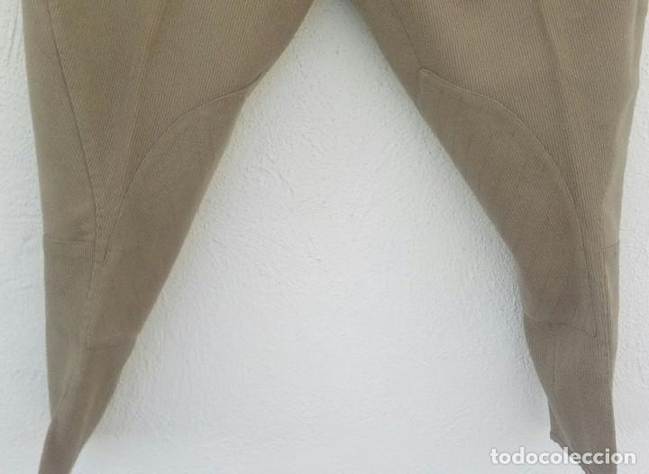 Militaria: Pantalón de montar, breeches oficial, canutillo garbanzo,talla 36-38 - Foto 2 - 159887658