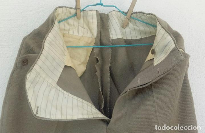 Militaria: Pantalón de montar, breeches oficial, canutillo garbanzo,talla 36-38 - Foto 3 - 159887658