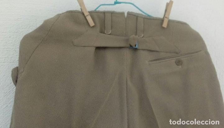 Militaria: Pantalón de montar, breeches oficial, canutillo garbanzo,talla 36-38 - Foto 4 - 159887658