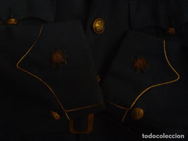 Militaria: AVIACION : GUERRERA DE COMANDANTE PILOTO DEL EJERCITO DEL AIRE. EPOCA DE FRANCO - Foto 2 - 160319674