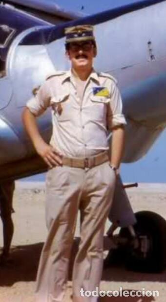 Militaria: Camisa de paseo ATN, color rosa arena, Sáhara, Tropas Nómadas. - Foto 4 - 160366410