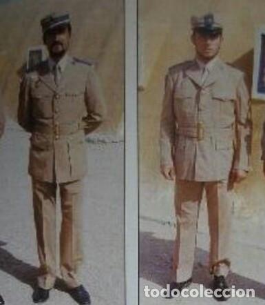 Militaria: Camisa de paseo ATN, color rosa arena, Sáhara, Tropas Nómadas. - Foto 6 - 160366410