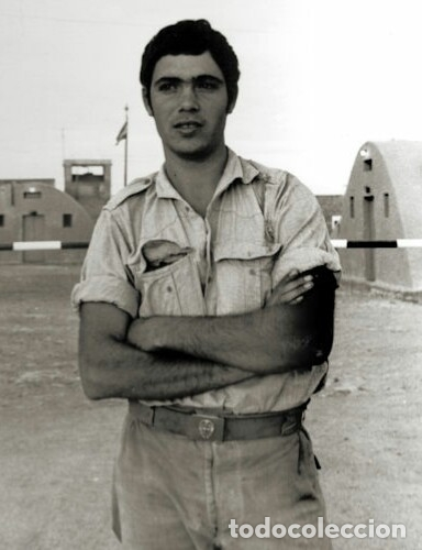 Militaria: Camisa Sáhara Ingenieros, militar española color arena,botones madera,bordado ingenieros,MUY RARA - Foto 11 - 160573558