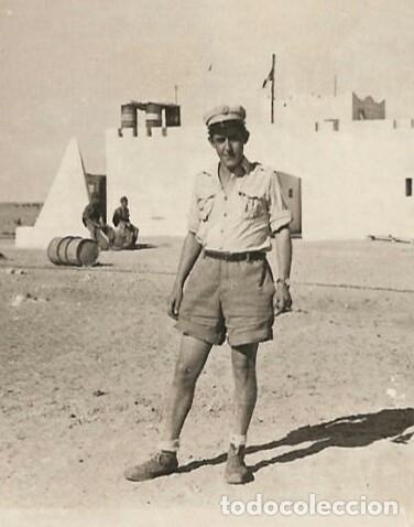 Militaria: Camisa Sáhara Ingenieros, militar española color arena,botones madera,bordado ingenieros,MUY RARA - Foto 13 - 160573558