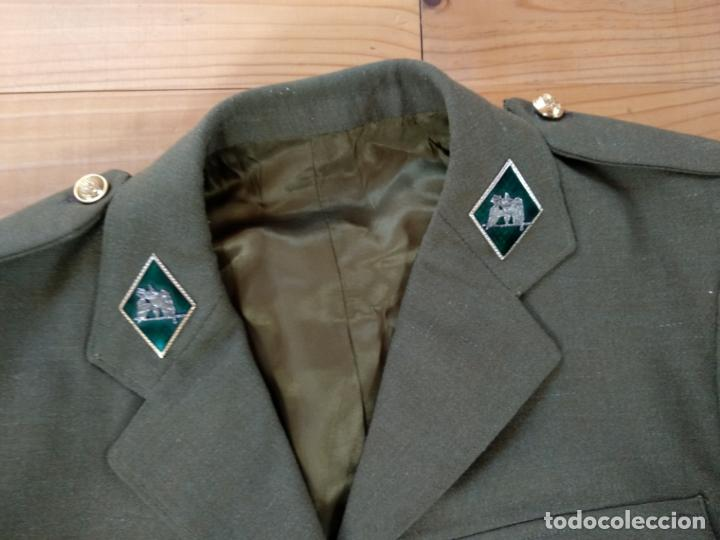 Militaria: UNIFORME SARGENTO ESPECIALISTA AÑOS 80 EJERCITO ESPAÑOL CON PANTALON GALONES Y ROMBOS - Foto 6 - 164183362