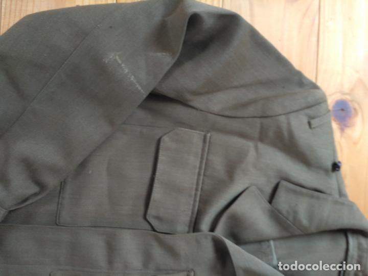 Militaria: CAZADORA UNIFORME DE TRABAJO MILITAR EJERCITO USADA TALLA 48-L - Foto 3 - 160830750