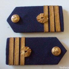 Militaria: HOMBRERAS DE CAMISA DE GALA CAPITÁN DE NAVÍO ARMADA. Lote 162355937