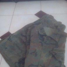 Militaria: UNIFORME ESPAÑOL EN CAMO WOODLAND, EJERCITO DEL AIRE, TALLA 58!!!. Lote 164078450