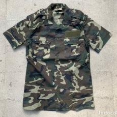 Militaria: CAMISA UNIFORME EJERCITO TIERRA ESPAÑOL CAMUFLAJE BOSCOSO. Lote 35303700