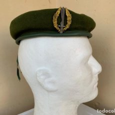 Militaria: BOINA VERDE GUERRILLERO COE COMPAÑIA OPERACIONES ESPECIALES. Lote 164264902