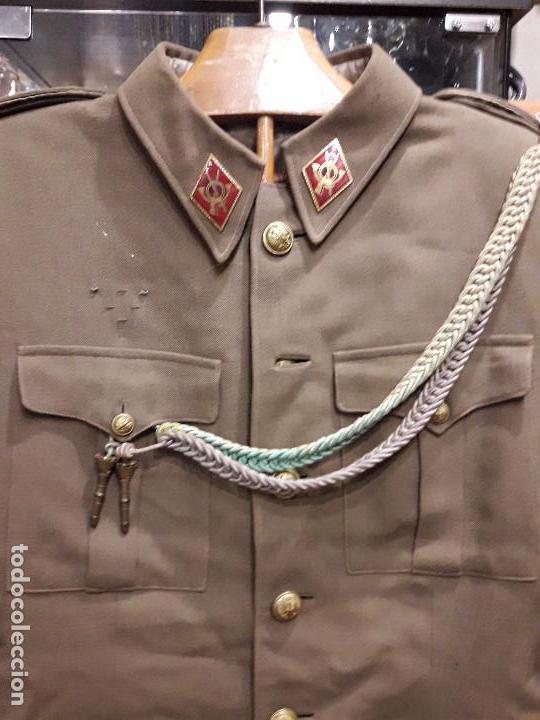 Militaria: UNIFORME ALFEREZ DE COMPLEMENTO EPOCA DE FRANCO - Foto 2 - 245458165