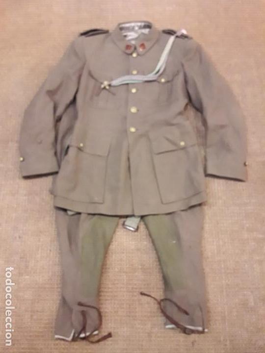 Militaria: UNIFORME ALFEREZ DE COMPLEMENTO EPOCA DE FRANCO - Foto 3 - 245458165