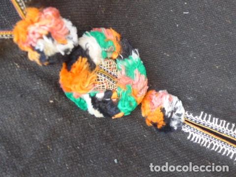 Militaria: * Antigua chilaba de regulares, guerra civil, con colores de la tribu, original. ZX - Foto 7 - 167691740