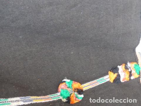 Militaria: * Antigua chilaba de regulares, guerra civil, con colores de la tribu, original. ZX - Foto 16 - 167691740