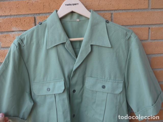 Militaria: * Antigua camisa + pantalon de la guardia civil, original. ZX - Foto 2 - 232255340