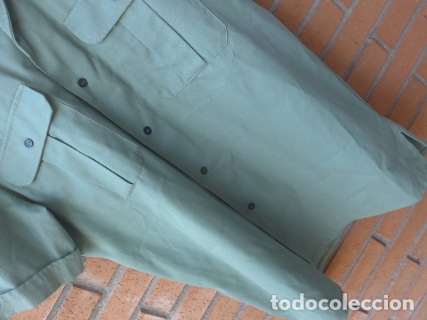 Militaria: * Antigua camisa + pantalon de la guardia civil, original. ZX - Foto 3 - 232255340