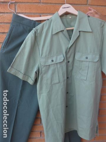 * ANTIGUA CAMISA + PANTALON DE LA GUARDIA CIVIL, ORIGINAL. ZX (Militar - Uniformes Españoles )