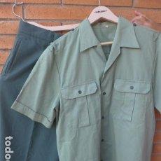 Militaria: * ANTIGUA CAMISA + PANTALON DE LA GUARDIA CIVIL, ORIGINAL. ZX. Lote 232255340