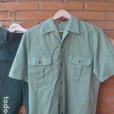 Militaria: * ANTIGUA CAMISA + PANTALON DE LA GUARDIA CIVIL, ORIGINAL. ZX. Lote 232255480