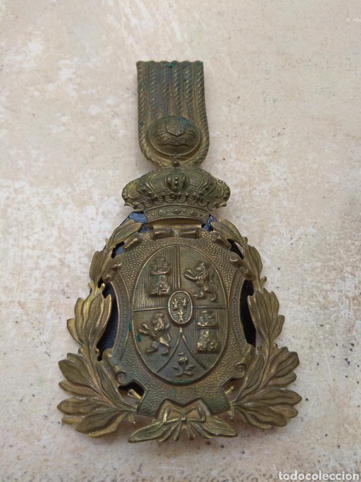Militaria: Placa para Ros de Infantería Alfonso XIII - Foto 2 - 167829350