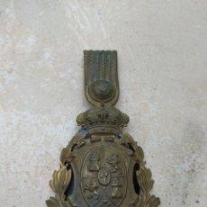 Militaria: PLACA PARA ROS DE INFANTERÍA ALFONSO XIII. Lote 167829350