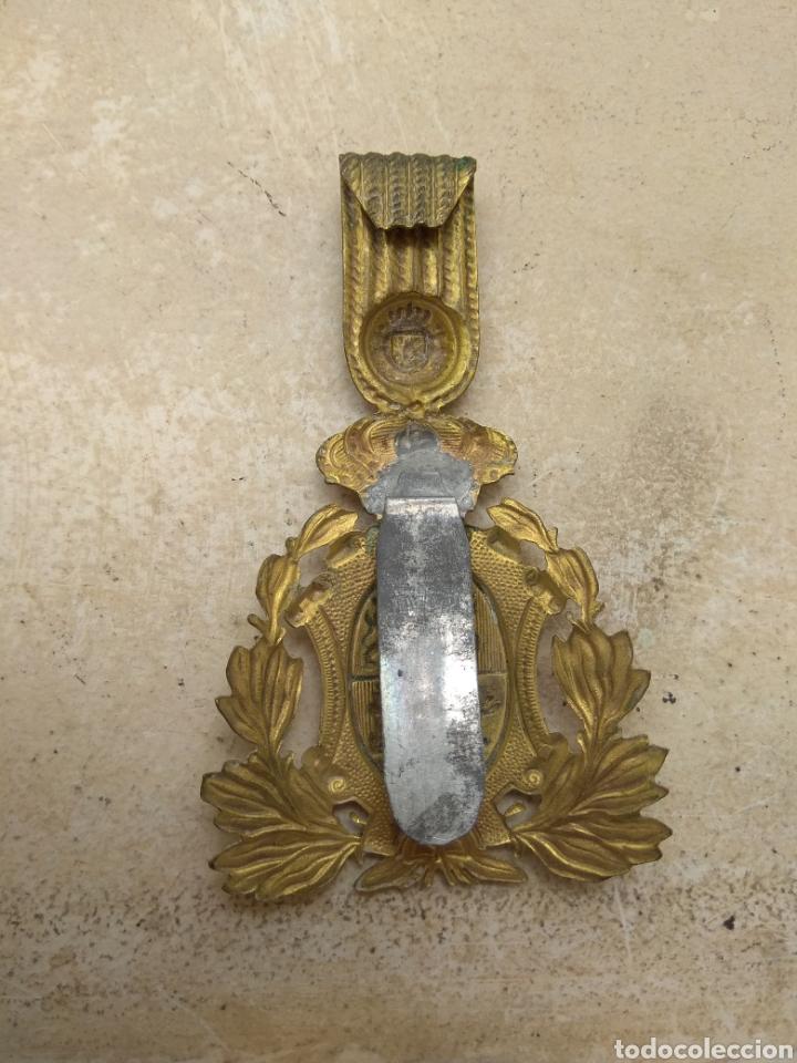 Militaria: Placa para Ros de Infantería Alfonso XIII - Foto 4 - 167829350