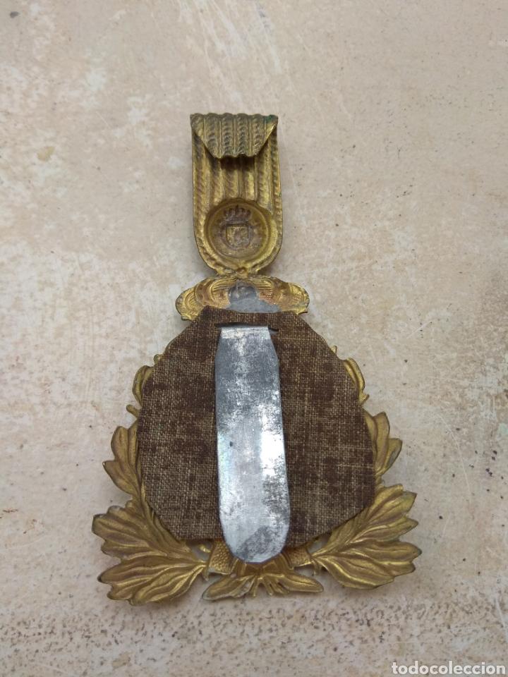 Militaria: Placa para Ros de Infantería Alfonso XIII - Foto 3 - 167829350
