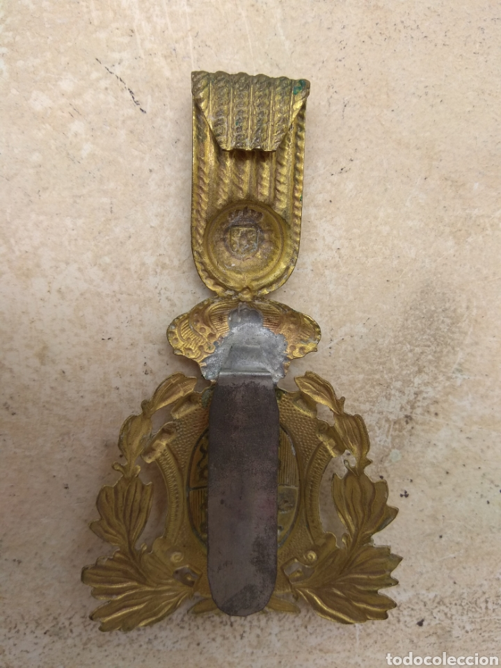 Militaria: Placa para Ros de Infantería Alfonso XIII - Foto 5 - 167829350
