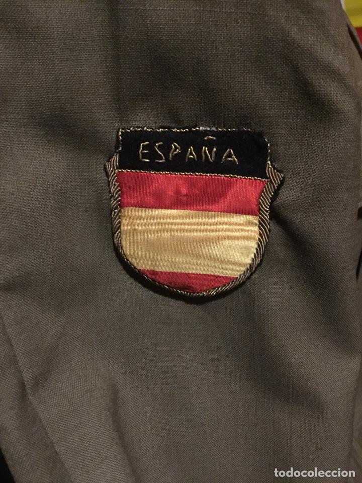 ANTIGUA GUERRERA DEL EJÉRCITO ESPAÑOL DIVISIÓN AZUL (Militar - Uniformes Españoles )