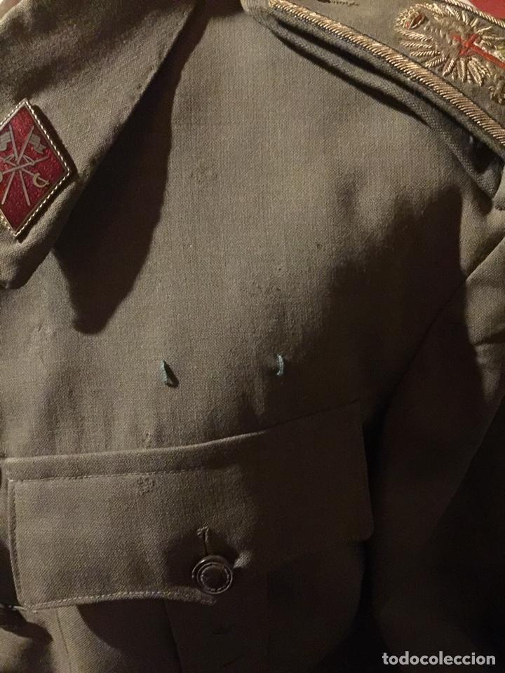 Militaria: ANTIGUA GUERRERA DEL EJÉRCITO ESPAÑOL DIVISIÓN AZUL - Foto 4 - 167875048