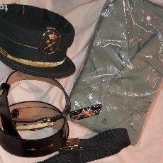 Militaria: GORRA TERESIANA 2 CINTOS CAMISA PRENDEDOR GUARDIA CIVIL. Lote 171462585