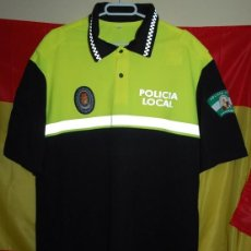 Militaria: JERSEY POLO DE VERANO POLICIA LOCAL ANDALUCIA GRANADA TALLA L. Lote 171527522