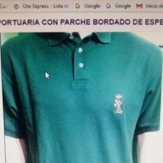 Militaria: CAMISA NIQUI NIKI DE A GUARDIA CIVIL PORTUARIA CON PARCHE BORDADO DE ESPECIALIDAD MARINA. Lote 77231969