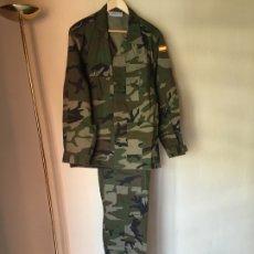 Militaria: INFANTERIA DE MARINA, UNIFORME CAMPAÑA WOODLAND TALLA 52 L. Lote 173636534