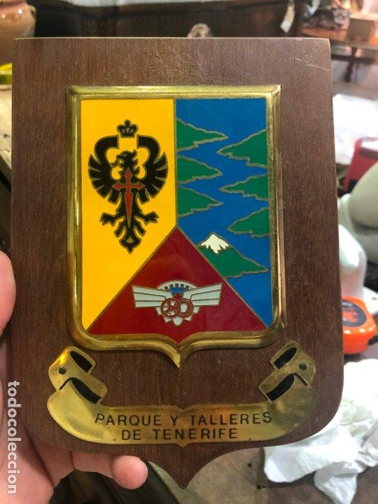 METOPA MILITAR PARQUE Y TALLERES DE TENERIFE - MEDIDA 18,5X13,5 CM (Militar - Uniformes Españoles )