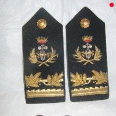 Militaria: HOMBRERAS DE INGENIERO INDUSTRIAL, BUENA CALIDAD Y BOTONES. Lote 175062795