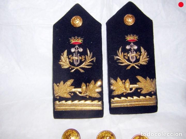 Militaria: HOMBRERAS DE INGENIERO INDUSTRIAL, BUENA CALIDAD Y BOTONES - Foto 2 - 175062795