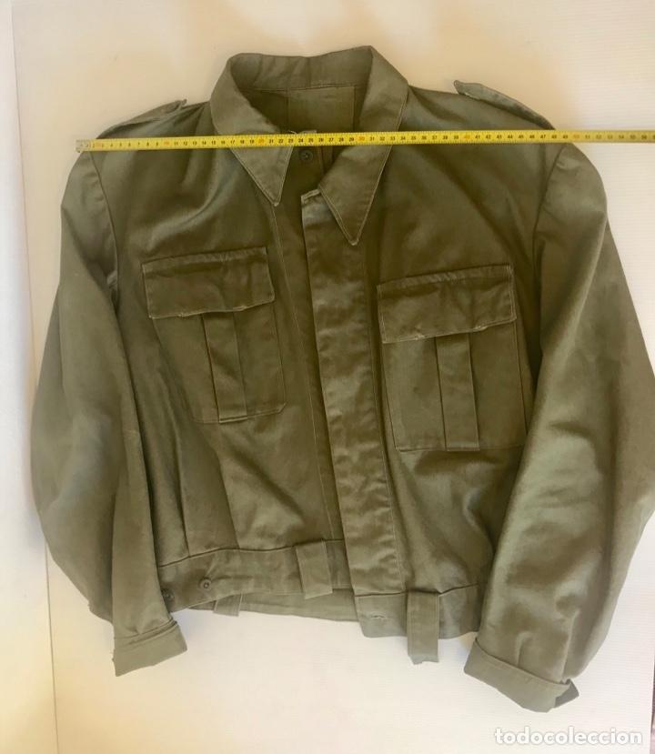 Militaria: Chaqueta militar ejercito 50-60. Recreación Guerra Civil - Foto 3 - 175700202