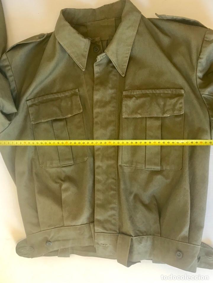 Militaria: Chaqueta militar ejercito 50-60. Recreación Guerra Civil - Foto 4 - 175700202
