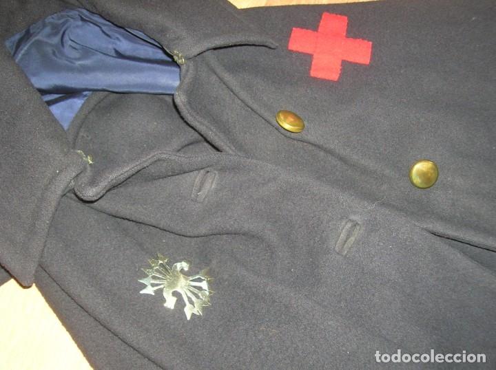 Militaria: CAPOTE DE ENFERMERA FALANGISTA. GUERRA CIVIL. DIVISION AZUL. - Foto 6 - 176083962