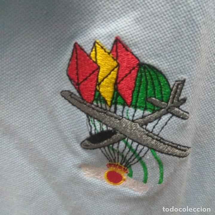 Militaria: Camiseta del Ejército del Aire con parche bordado, talla M Mediana, para coleccionstas - Foto 2 - 176565475